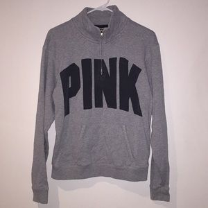 V.S. PINK grey pullover